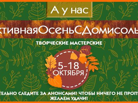 Активная осень с «Домисолькой».