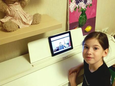 Дистанционное обучение в «Домисольке» идёт полным ходом!
