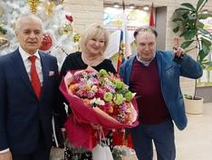 «Домисольку» посетили Геннадий Онищенко и Ирина Пахомова.