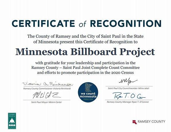 Ramsey County Certificate.JPG