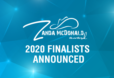 2020 Zanda McDonald Award Finalists Announced
