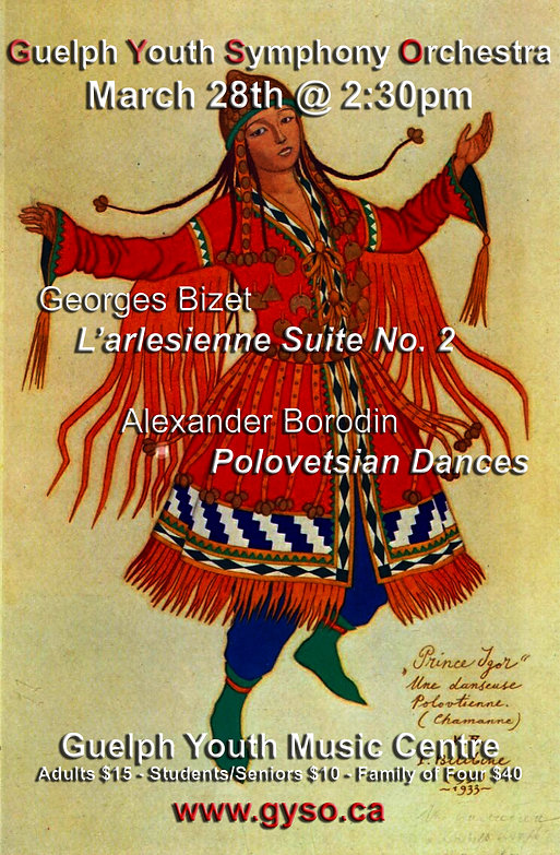 Polvetsian Dancer Borodin