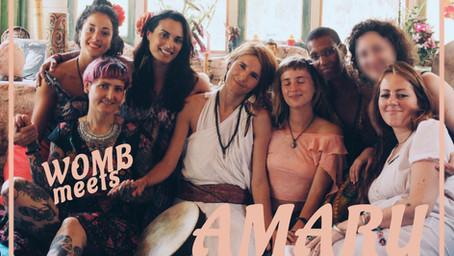WOMB meets: AMARU
