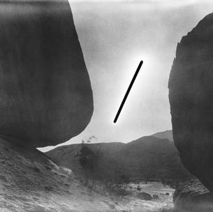 4/12/2009,  4:11 – 5:11 pm, S 21°47.094'  E 015°39.829' 80 x 100 cm (approx.) Gelatin silver print Edition 1/3