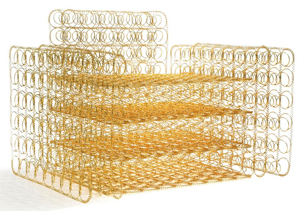 Golden Armchair