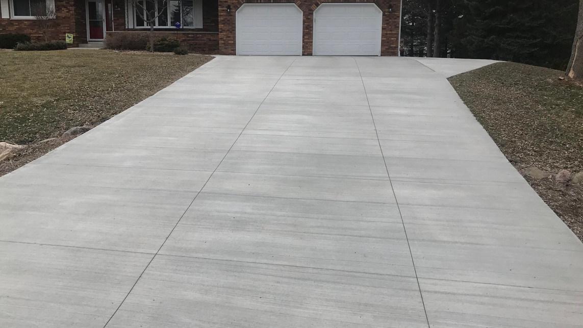 Madison Concrete Driveway
