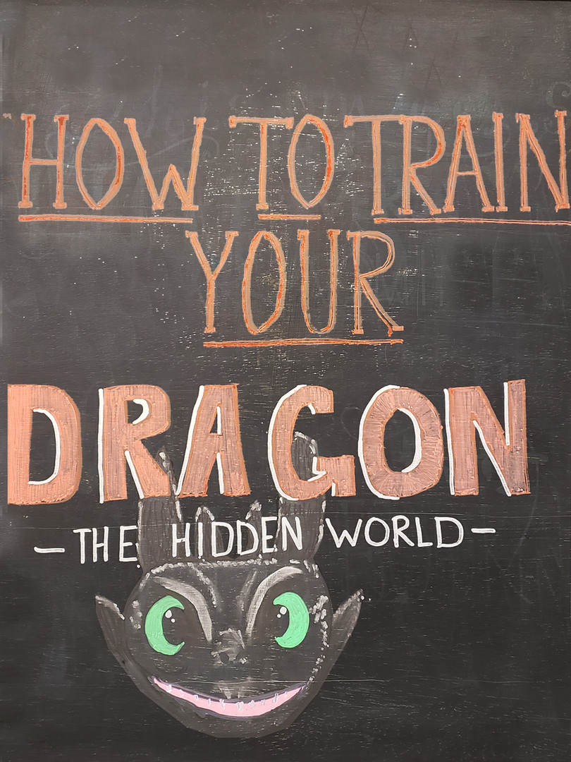 How to Train your Dragon, hidden world.j