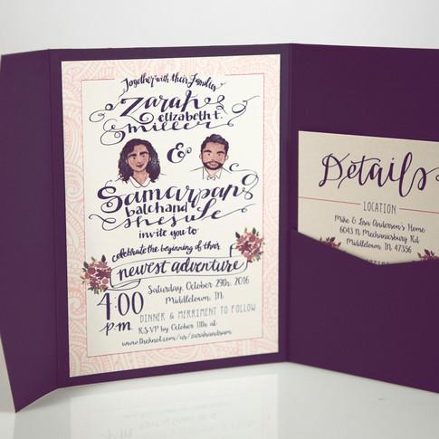 Zarah & Samarpan Shejule Wedding