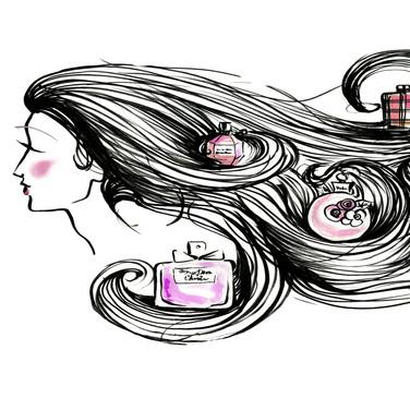 ink & watercolor