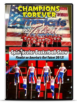 Spin-tacular DVD
