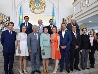 Pauline Gavrilov a reçu le prix d'excellence au Kazakhstan