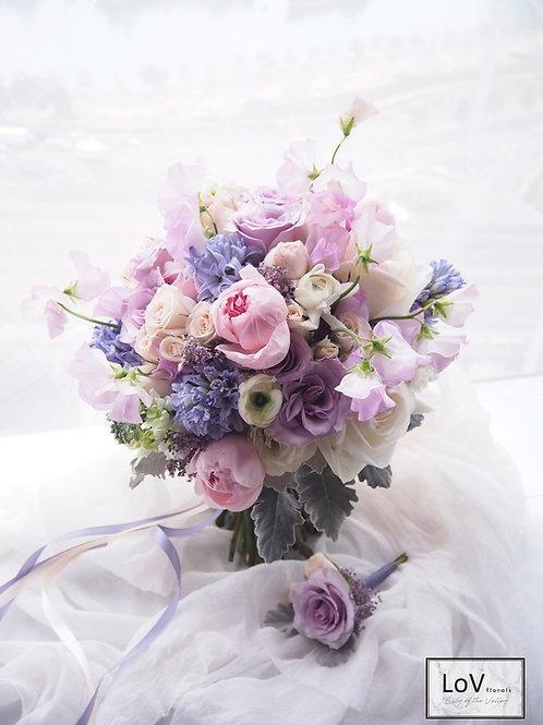 Roses with Hyacinthus