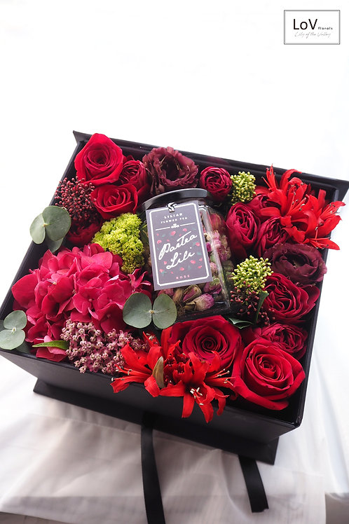 Flower Box - Rosa Audrey
