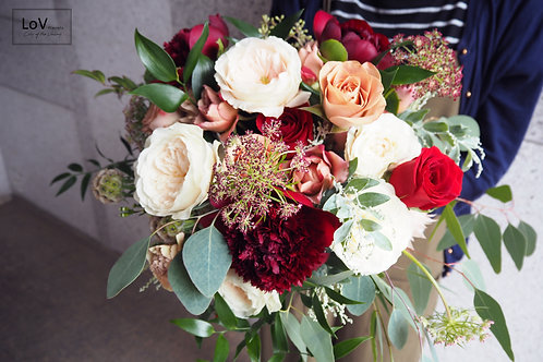 Garden Roses with Roses