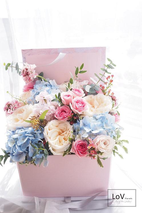 Flower Box - Marble
