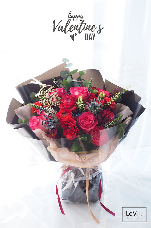 Bouquet - Classic Red