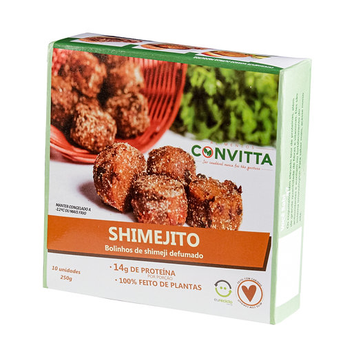 Shimejito - bolinhos de shimeji defumado
