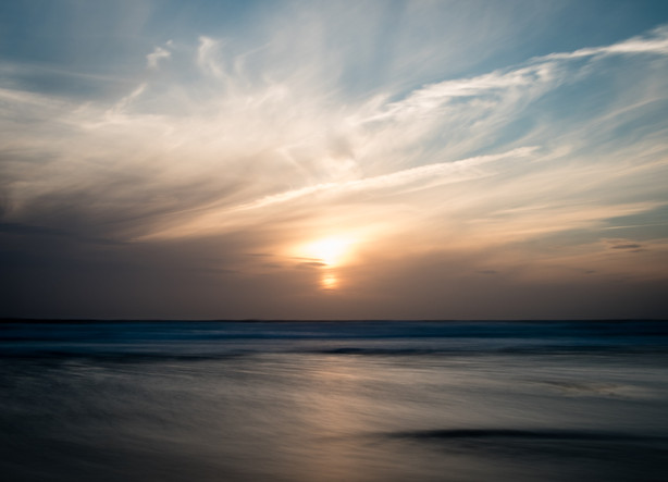 Perrenporth sunset
