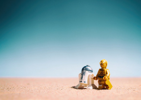 Droids in the desert