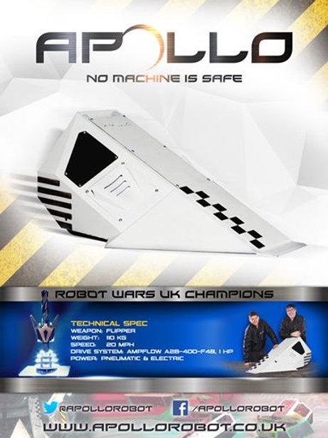 Apollo - Robot Wars Champions Poster