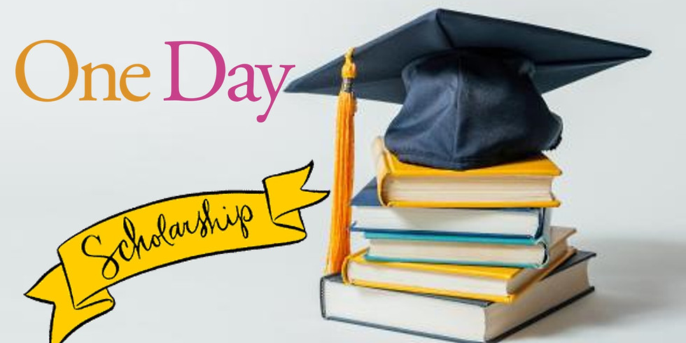 """Announcing 2018 """"ONE DAY"""" Scholarship Recipient"""