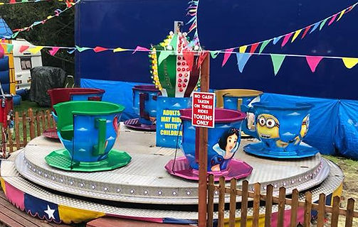 cups cups and saucer ride hire rides funfair bungeestar.com