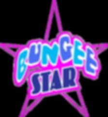 bungeestar logo, bungee trampolines