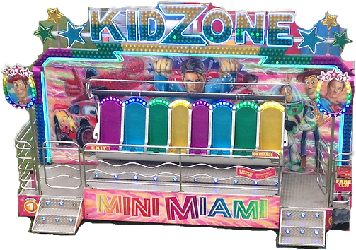 MINI MIAMI bungeestar.com kids rid hire