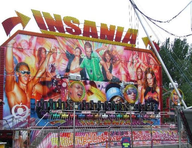 miami insania ride hire funfair bungeestar.com