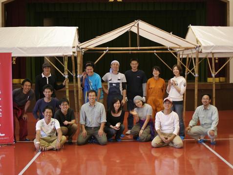 竹取物語(天然素材の竹テントWorkshop<2>) ~竹テントを作ろう!~
