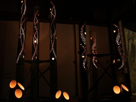 ライブ・バンブー・ライティング ~竹灯篭で竹原を灯そう~