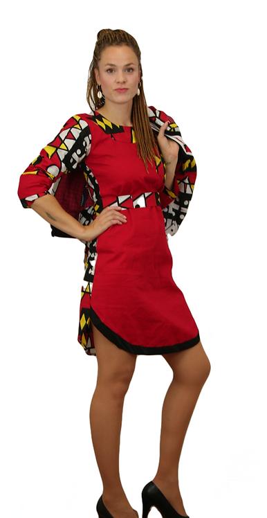 Kleid `Red Wakanda´