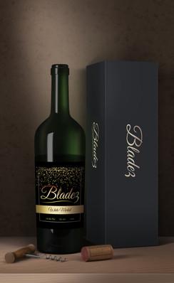 godslovellc_logo_on_wine_bottle_design_1