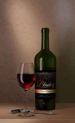 godslovellc_logo_on_wine_bottle_design_2