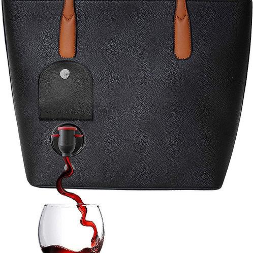 Wine Tote/Purse (Leather)