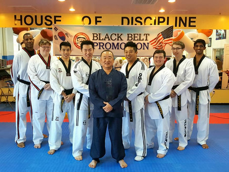 Congratulations To Our New Black Belts!