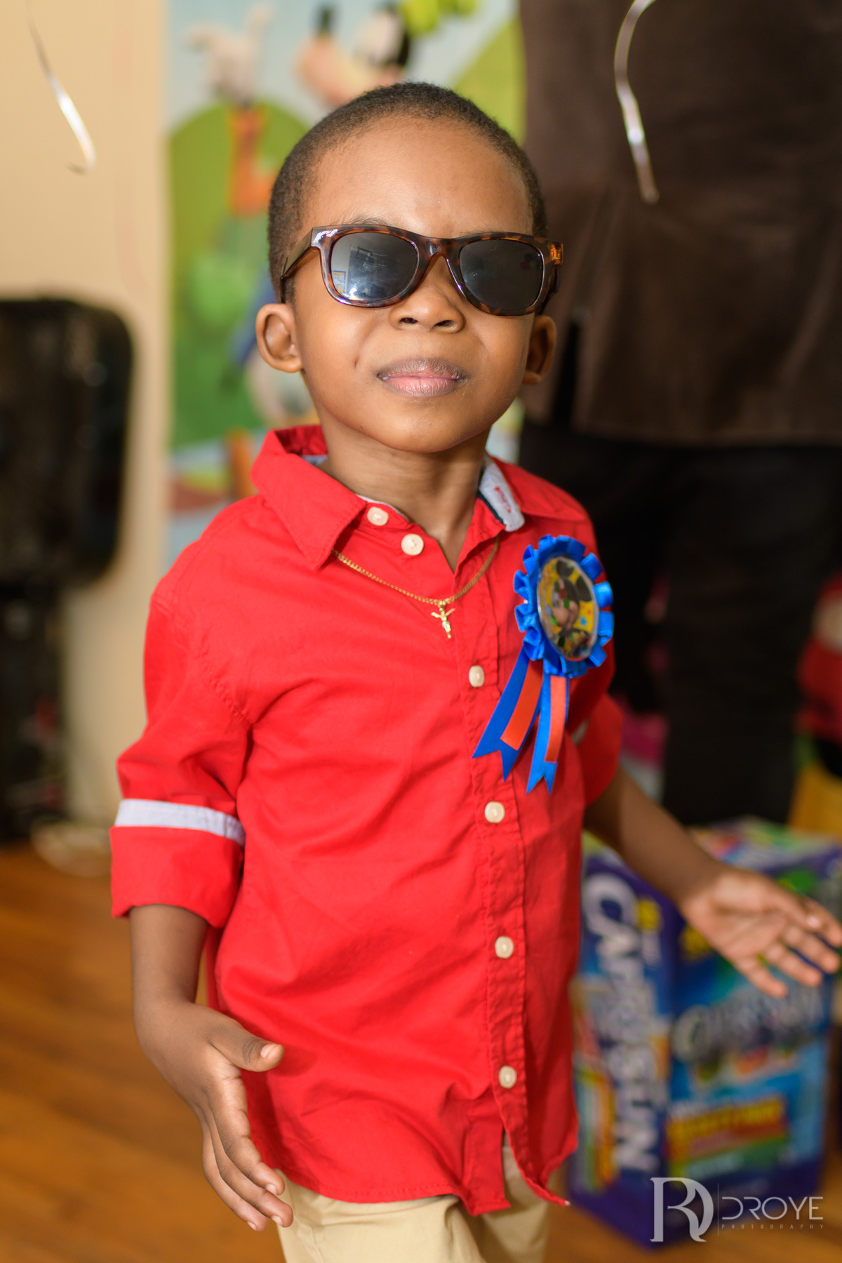 Clifford Augustin Jnr's 3rd Birthday
