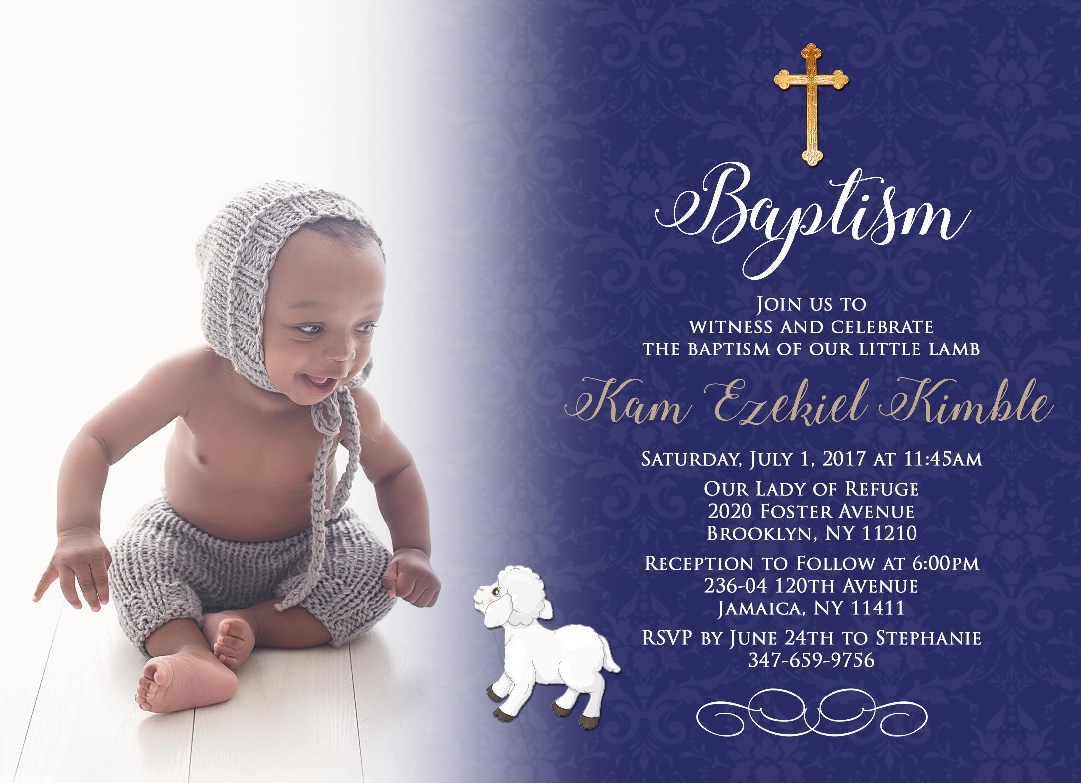 Kam's Baptism