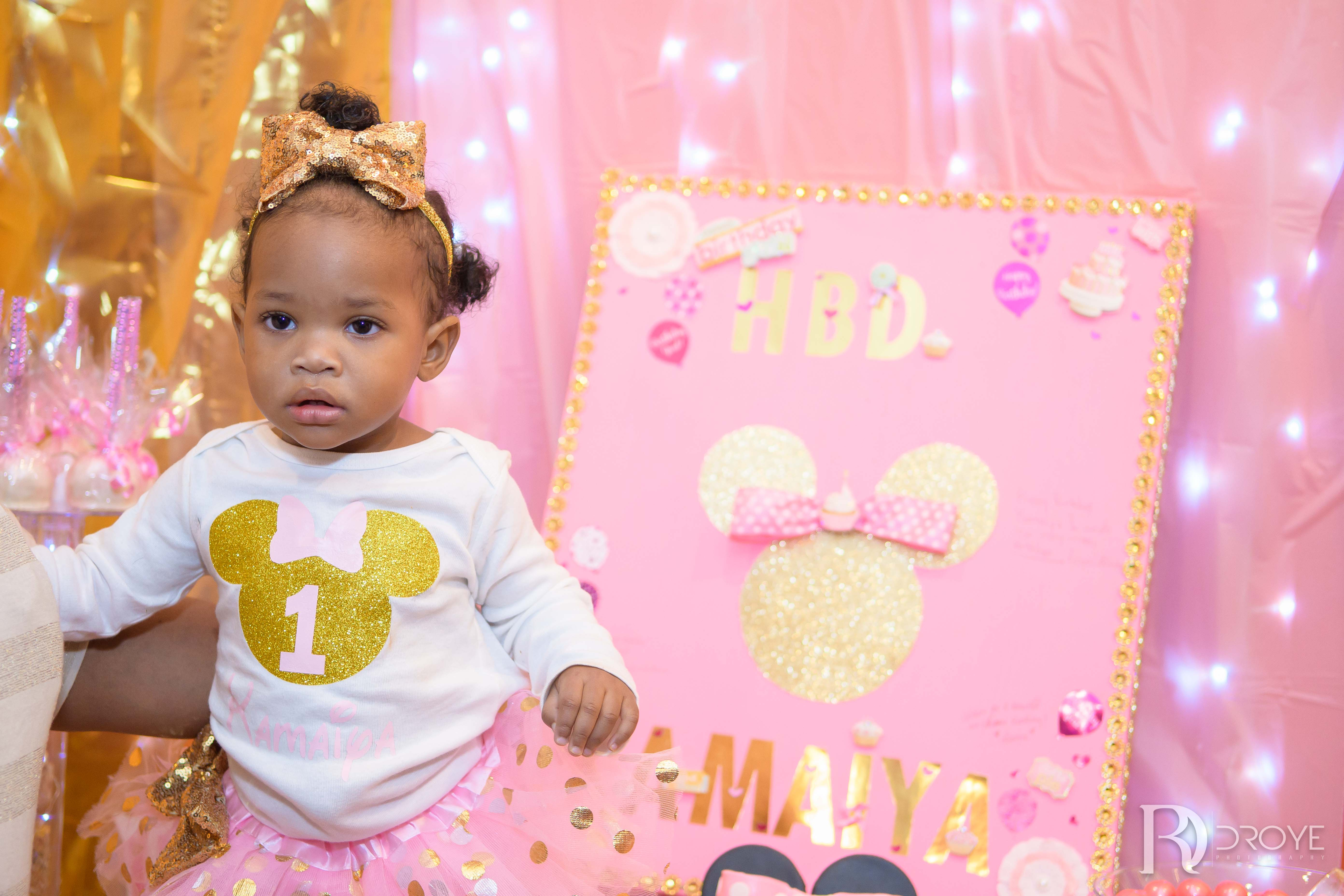 Kamaiya's 1st Birthday Party