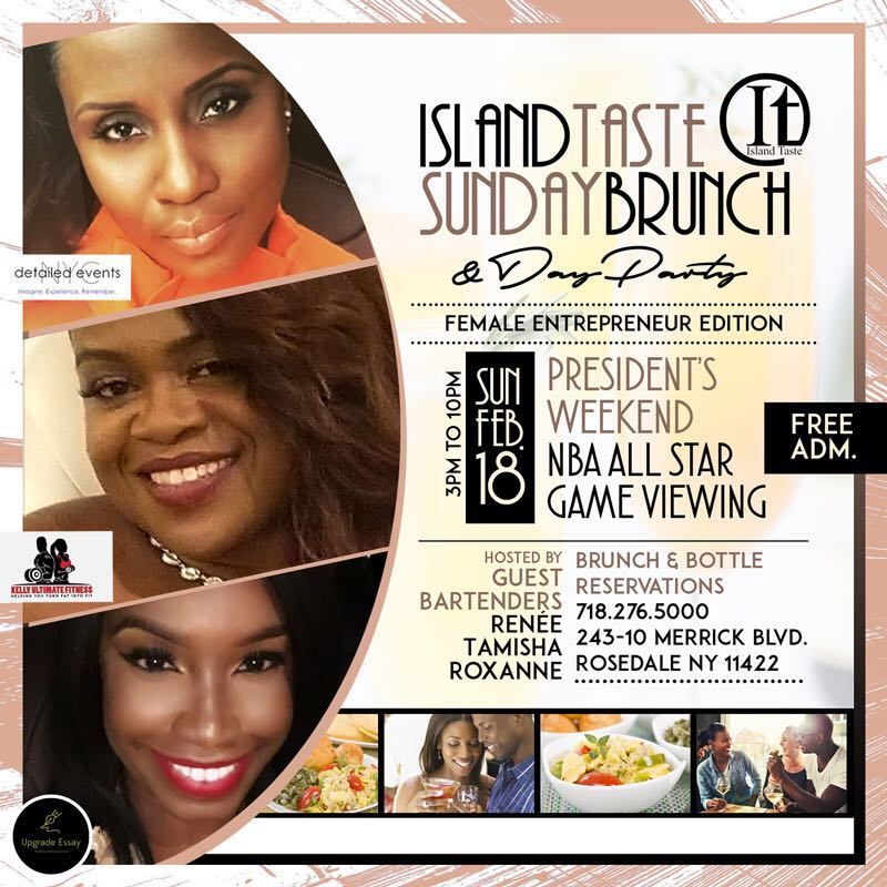 Island Taste Brunch & Day Party