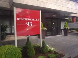 Eingangsbereich Kennedyallee