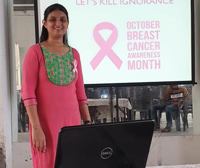Breast cancer awareness celebration!!!