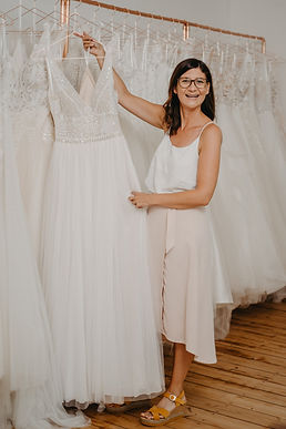Moderne Brautkleider im Bohostyle