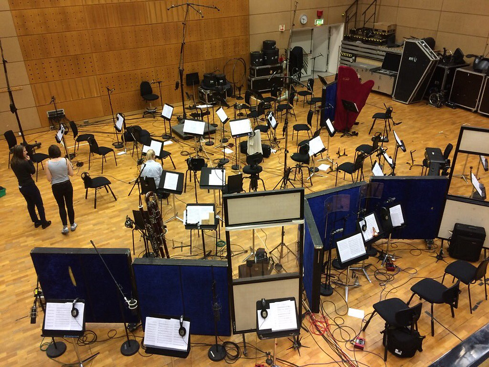 Had a great few days in RTÉ studio one with @rte_co with Joe Csibi on the podium and Dave McCune in the producers chair. It really is one of the best rooms in the country for recording an orchestra. The NCO were their usual brilliant!