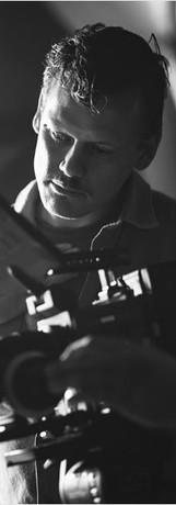 Matthew directing the Geronimo music video.
