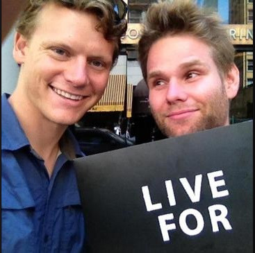 Matthew and James Coleman from the LIVE FOR NOW music video.