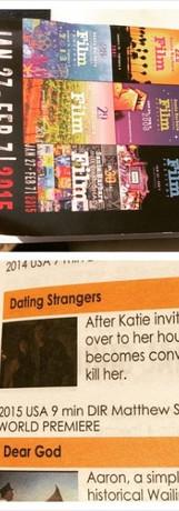 DATING STRANGERS in the SBIFF program.