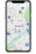 ALMO App, Parkplätze finden, Mein Auto finden, parken, navigation, GPS Tracker
