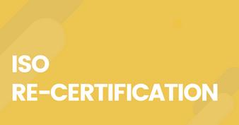 SPM is ISO re-certified!