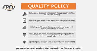 SPM Quality Policy